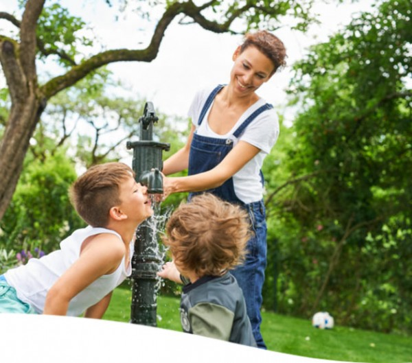 WESSOCLEAN AQUA TYP 1 - Gartenbrunnenreinigung